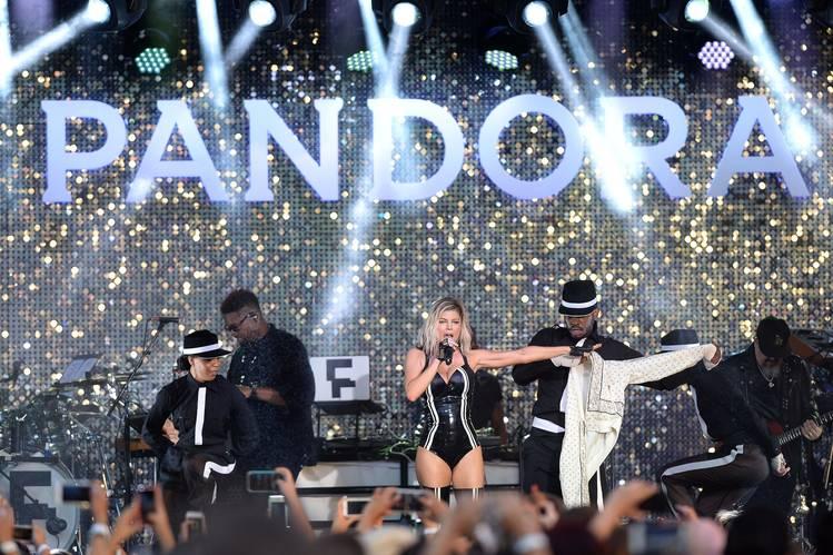 Fergie and Pandora